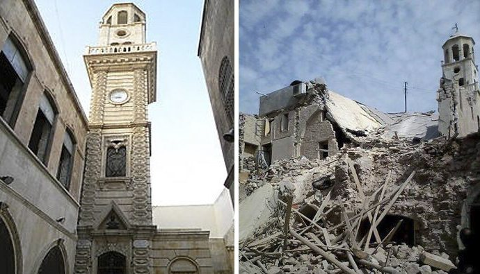 Syria's Aleppo : from a creation of beauty to a creation of destruction