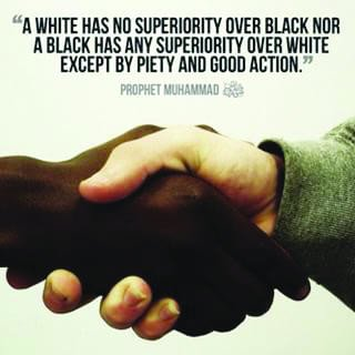 No place for racism in Islam