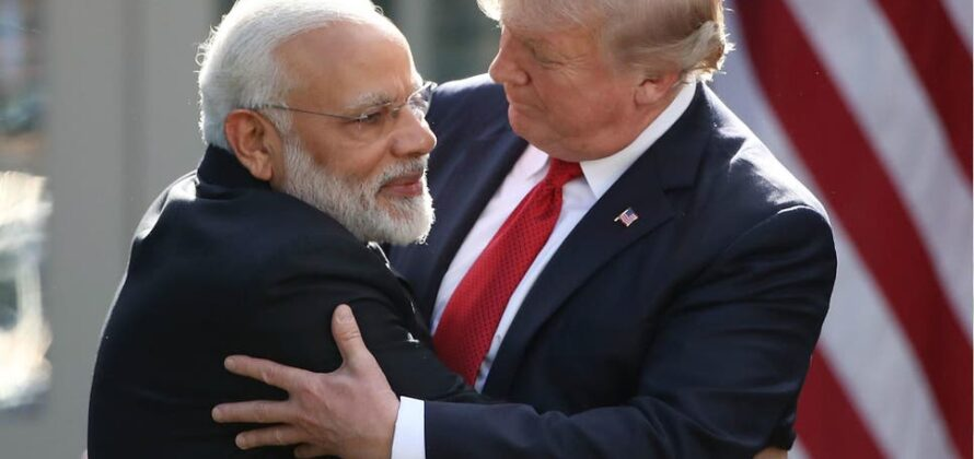 Trump has expressed his admiration for Modi on a number of occasions
