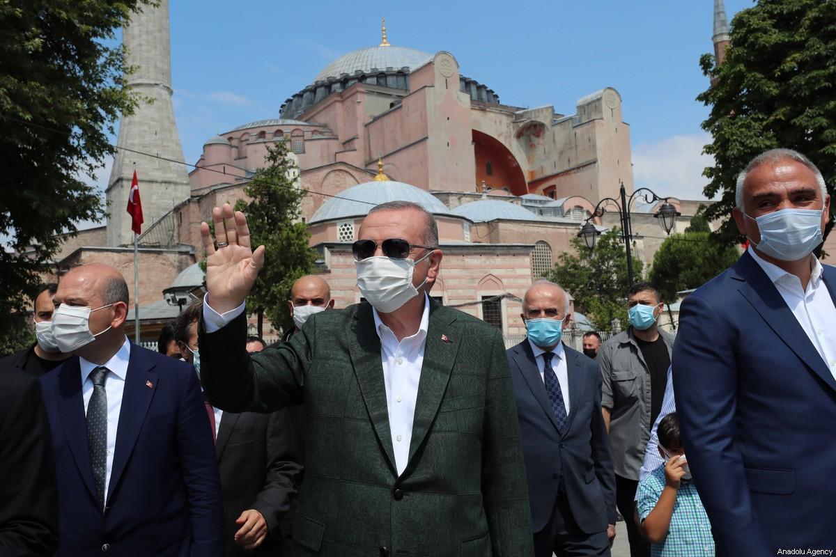 Turkey may have reclaimed the leadership of Sunni Islam from Saudi Arabia