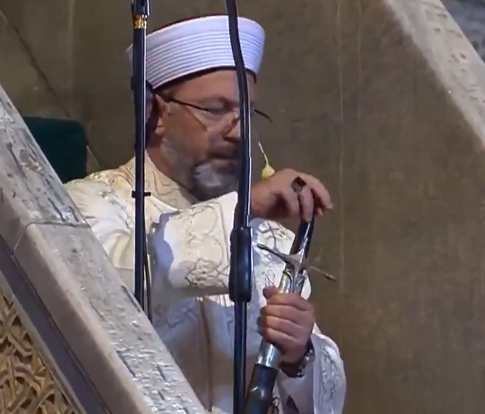 Hagia Sophia Friday prayer: full transcript of the sermon