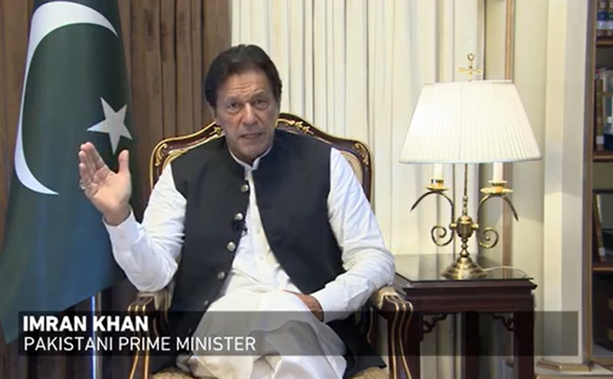 One-sided deal imposed on the Palestinians will not work: PM Khan