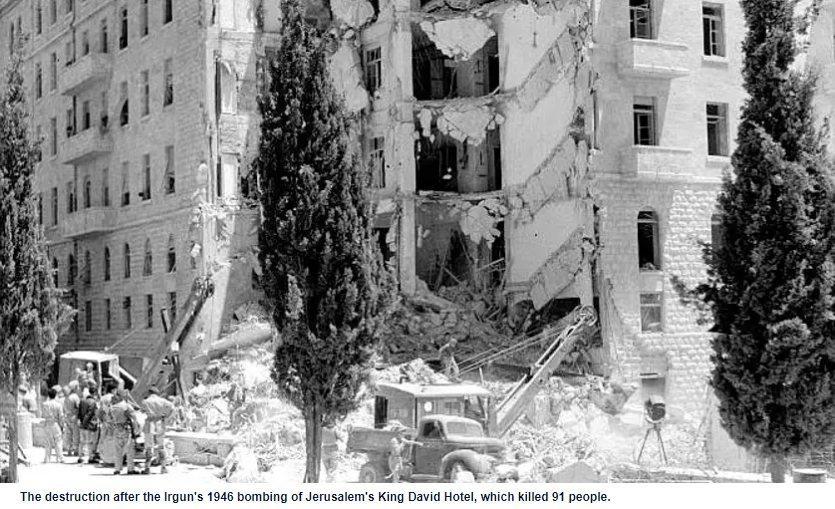 Zionism's Terrorist Heritage