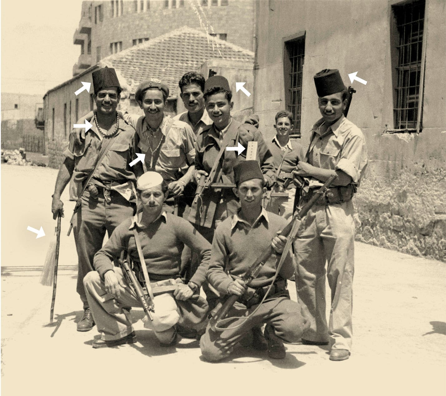Jewish Soldiers and Civilians Looted Arab Neighbors' Property en Masse in '48. The Authorities Turned a Blind Eye
