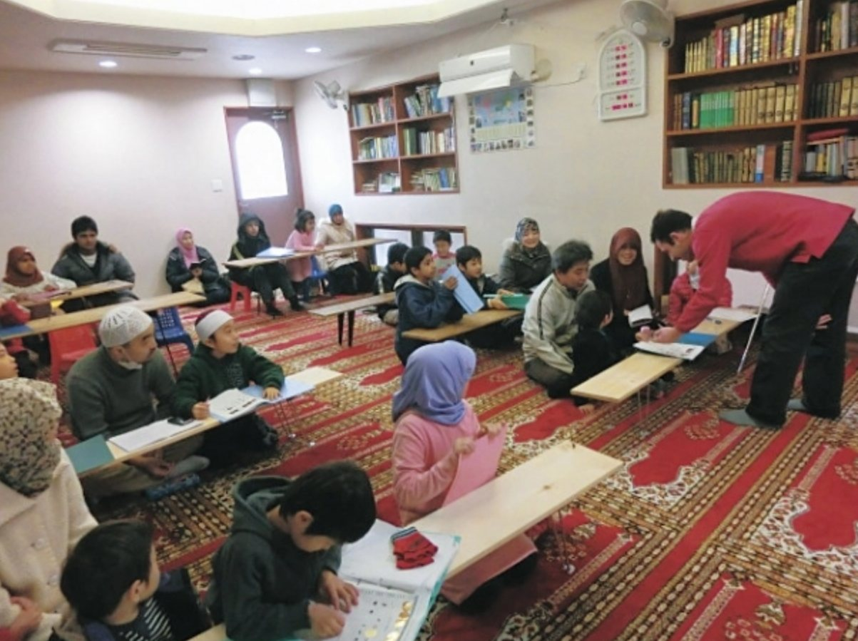 The number of Muslims in Japan is growing fast
