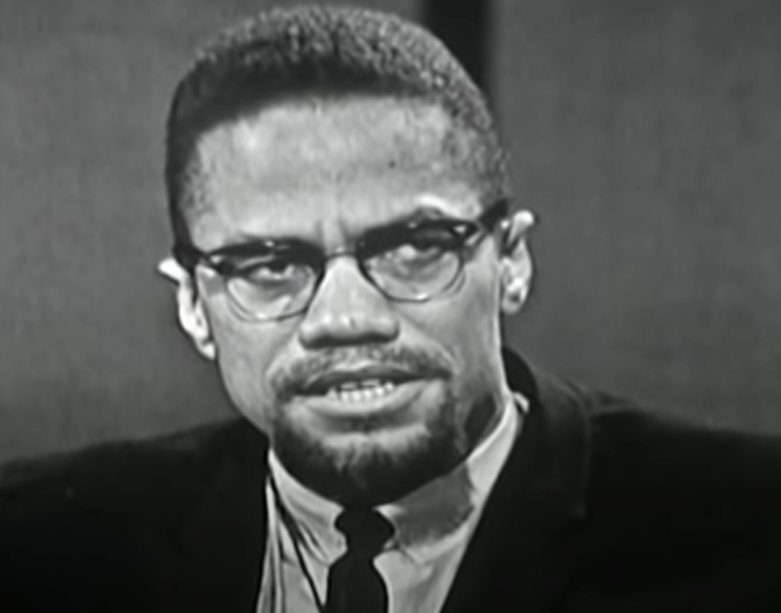 """Malcolm X : """"I'm against any form of segregation and racism"""" on CBC-TV's 'Front Page Challenge 1965"""