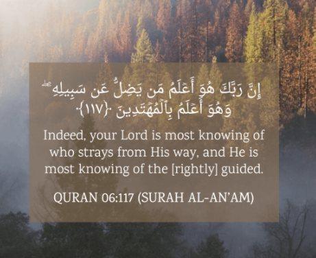 Monotheism in Surat al-An'aam (Chapter 6)
