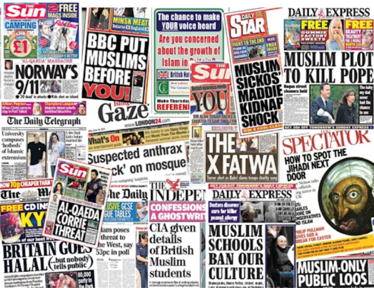 Britain's biggest bully: Racist tabloids