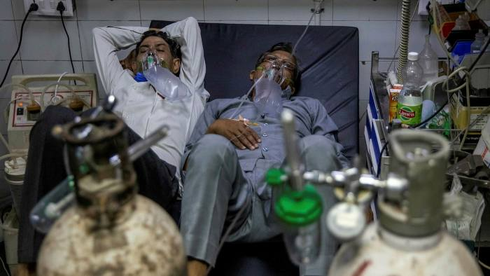 India : Black market oxygen, rows of patients struggling to breathe — the pandemic has cruelly exposed systemic issues