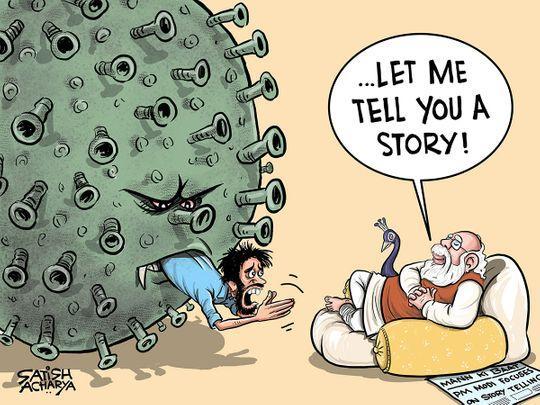 "India PM Narendra Modi has ""has criminally abdicated his responsibility"""