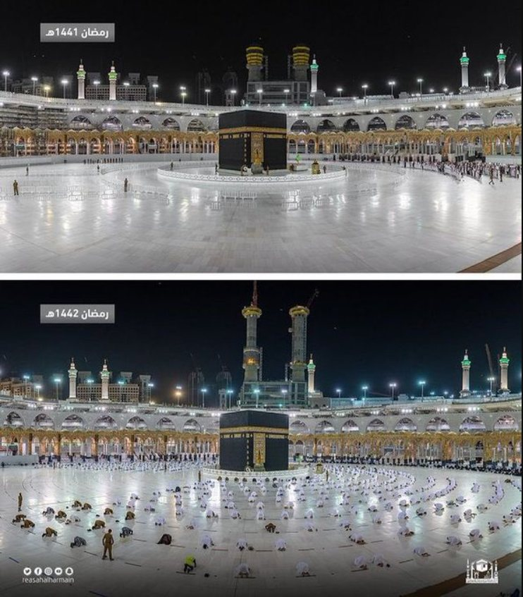 Ramadan in the Haram, Makkah 2021