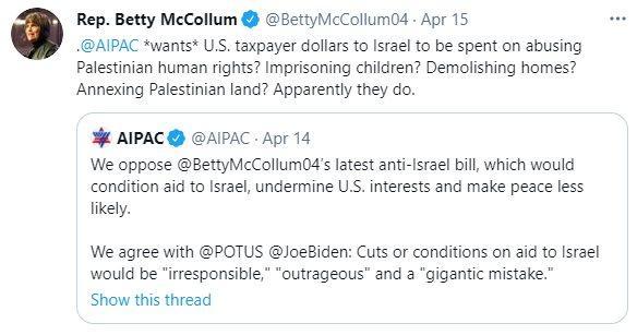tweet-betty-mccollum-15-4-2021