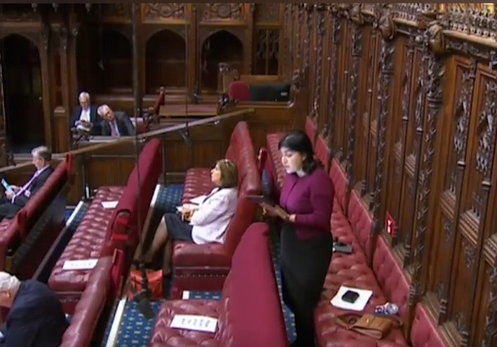 Baroness Sayeeda Warsi, House of Lords Speech : Stop listening to narrow political interests – listen to Palestinians & Israelis who stand together to call for an end to occupation