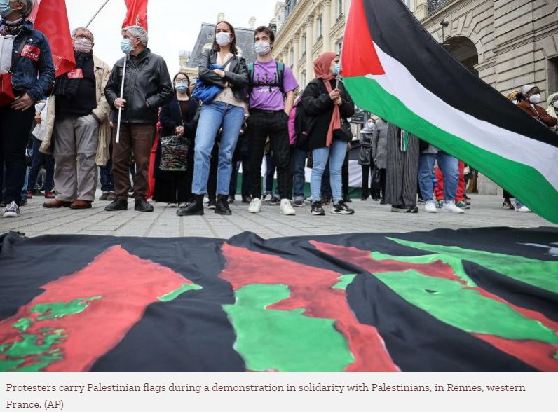 France warns against 'risk of apartheid' in Israel