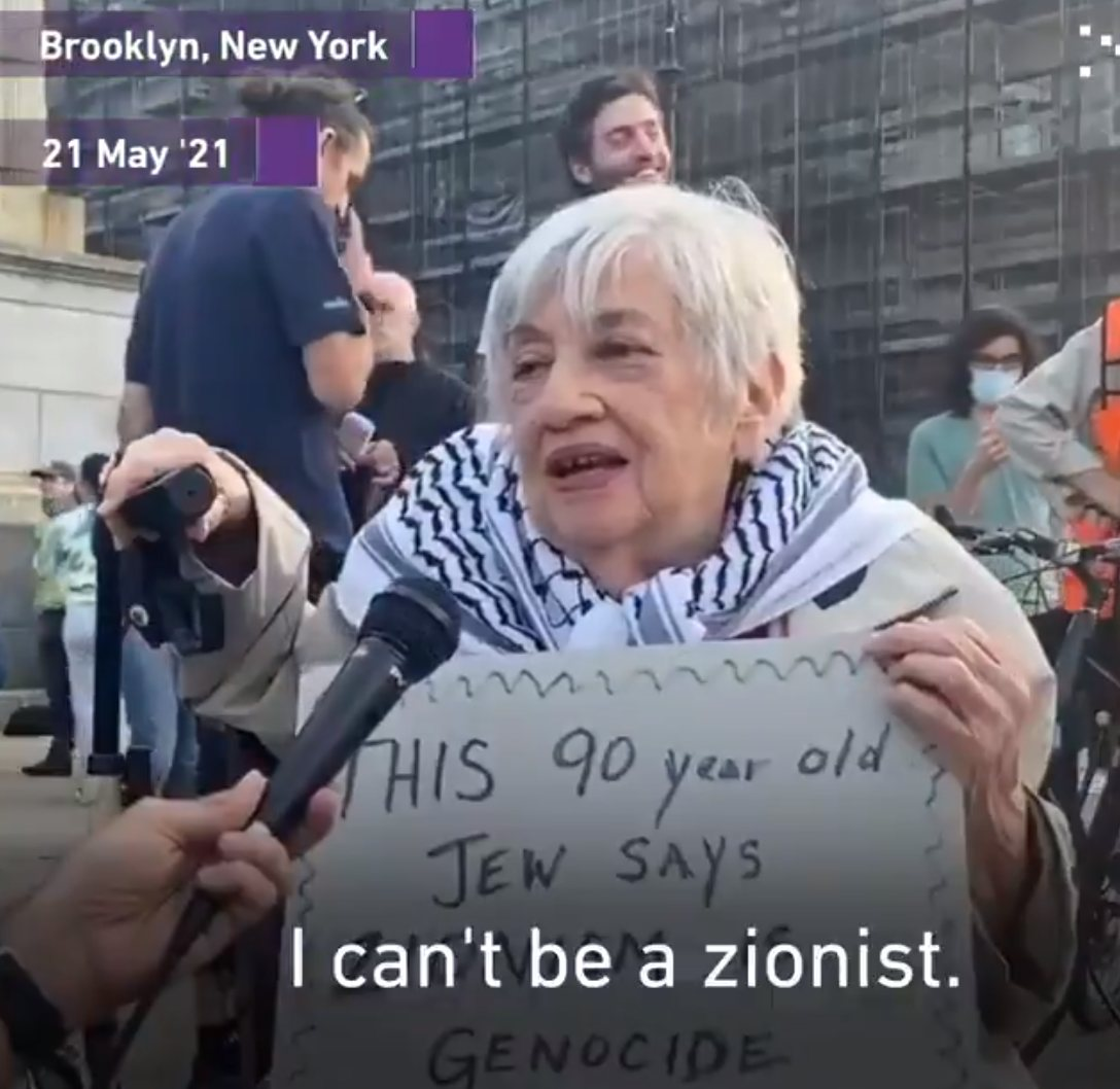 """""""I can't be a Zionist"""" – 90-year-old Jewish-American activist Shatzi Weisberger"""