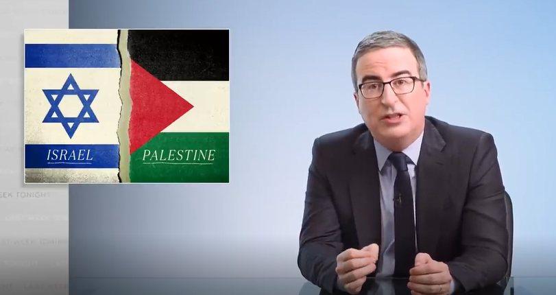 John Oliver on the problem of both-sides'ing the Israeli assault on Gaza