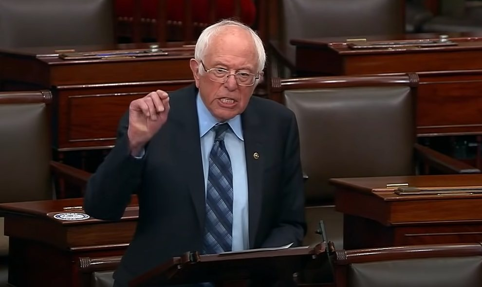 Bernie Sanders condemns Israeli actions in fiery speech on Senate floor