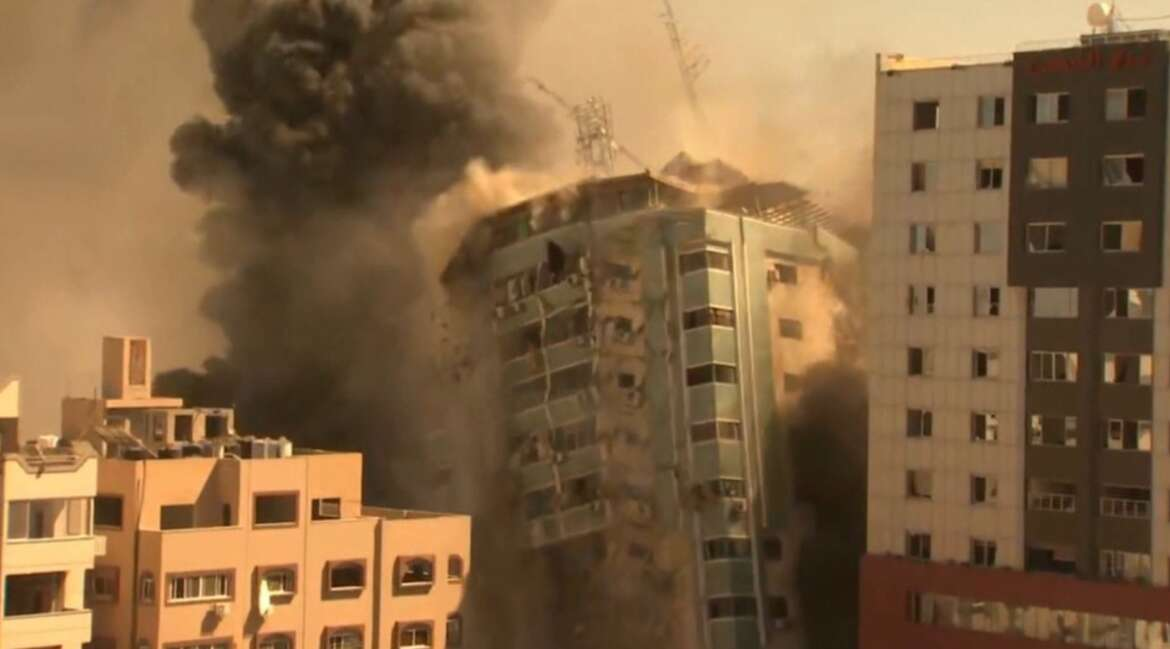 Israeli Pilot confesses : Israeli forces destroyed towers in Gaza to vent frustration