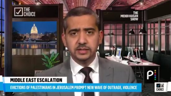 """""""One side is the occupier. The other side is occupied"""" – Mehdi Hasan"""