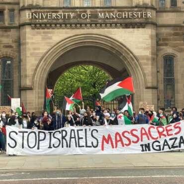 Staff at University of Manchester demand end to Tel Aviv University ties