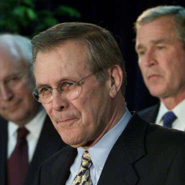 Donald Rumsfeld, Killer of 400,000 People, Dies Peacefully