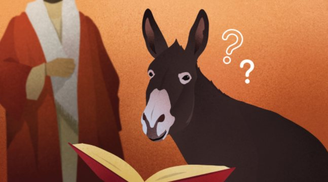 The Tale of the Donkey that Learned to Read
