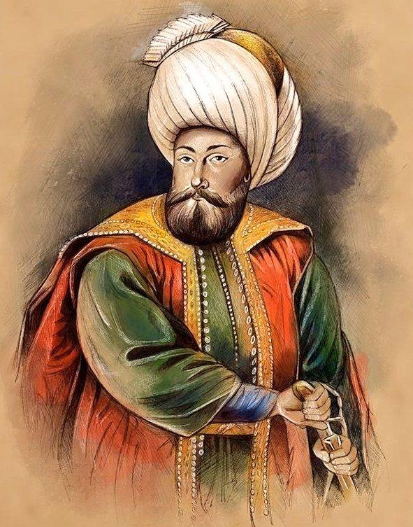 Ottoman Sultan Osman I  رَحِمَهُ ٱللَّٰهُ (Osman Ghazi)