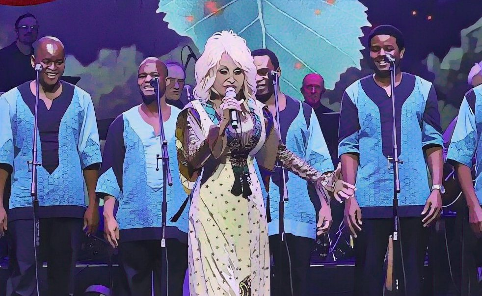 Peace Train – Just Vocals – Dolly Parton and Ladysmith Black Mambazo
