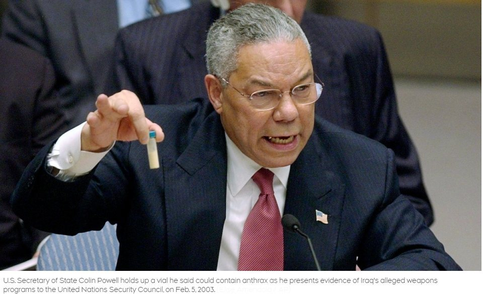Legacy of Shame: Colin Powell's Blood-Soaked Service to the Empire