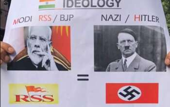 RSS Nazi BJP Modi Hitler